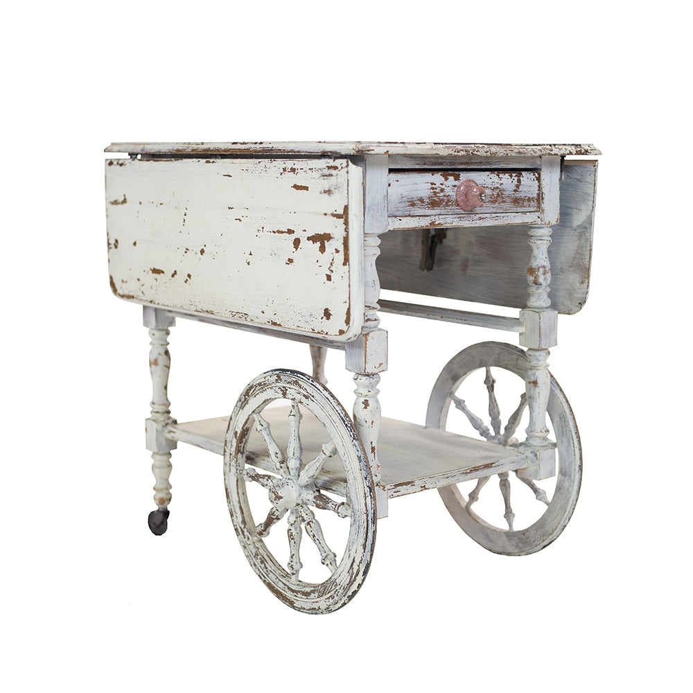 Vintage Serving Cart - Alpine Event Co.
