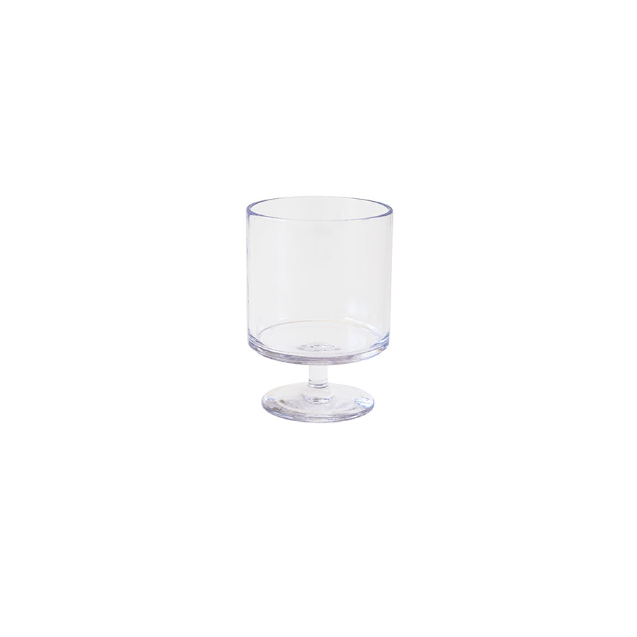 Clear Acrylic Goblet - Alpine Event Co.