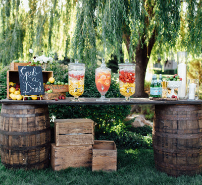 Whiskey Barrel Bar - Alpine Event Co.