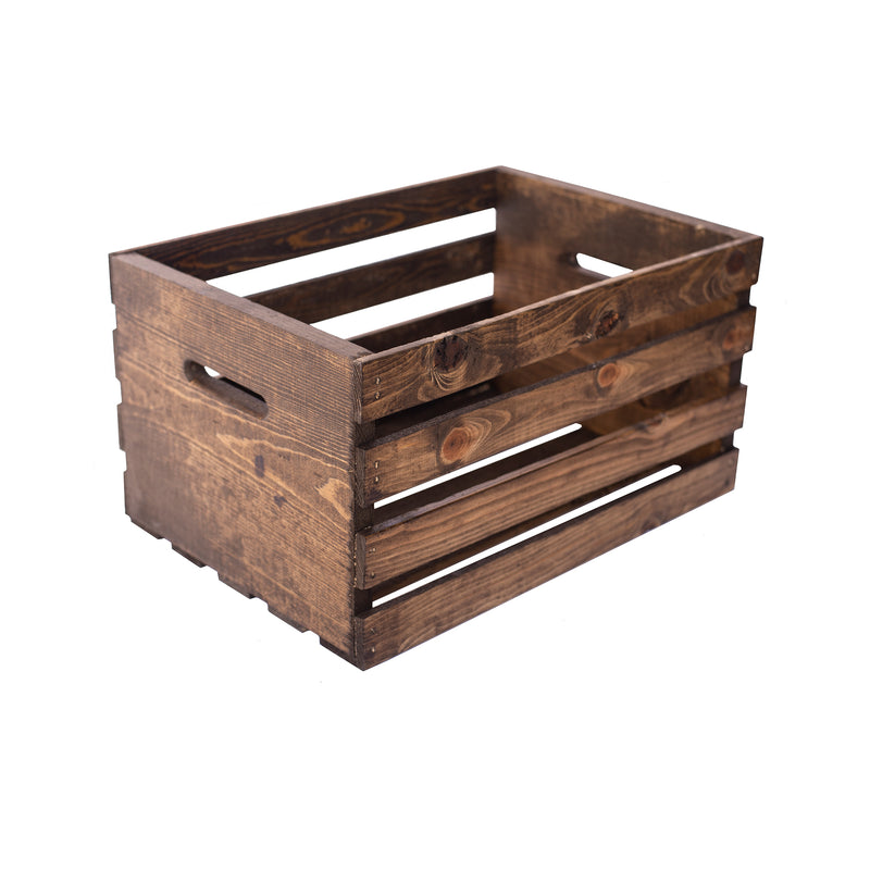 White Wood Crate