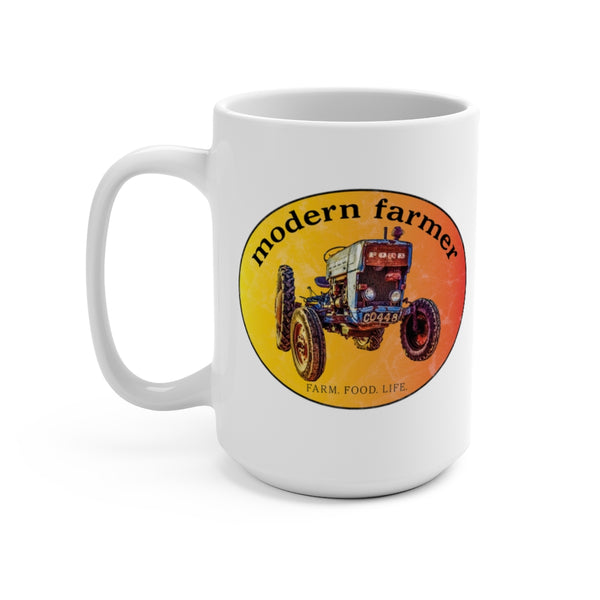 Old Blue Tractor 15oz Mug