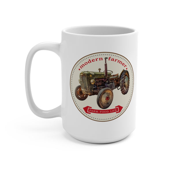 Old Green Tractor 150z Mug