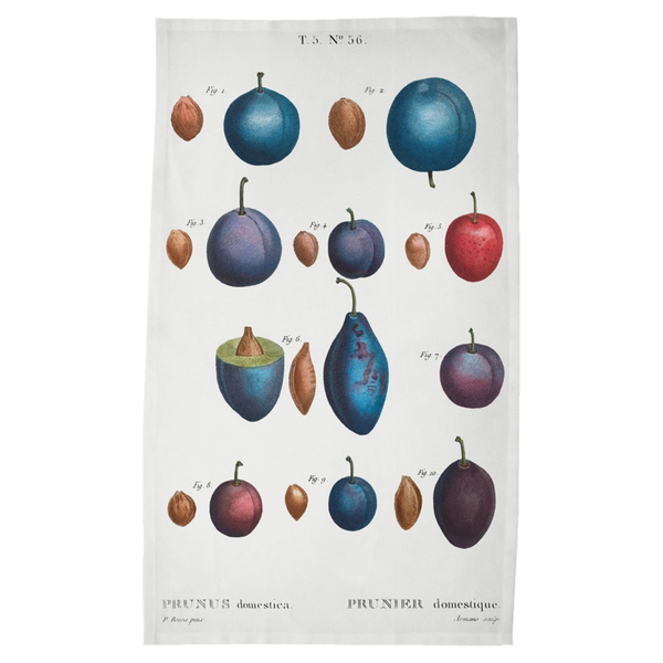 Harvest Tea Towels - Plums