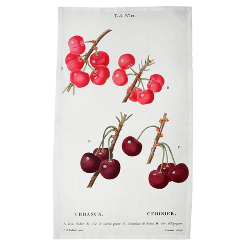 Harvest Tea Towels - Cherries