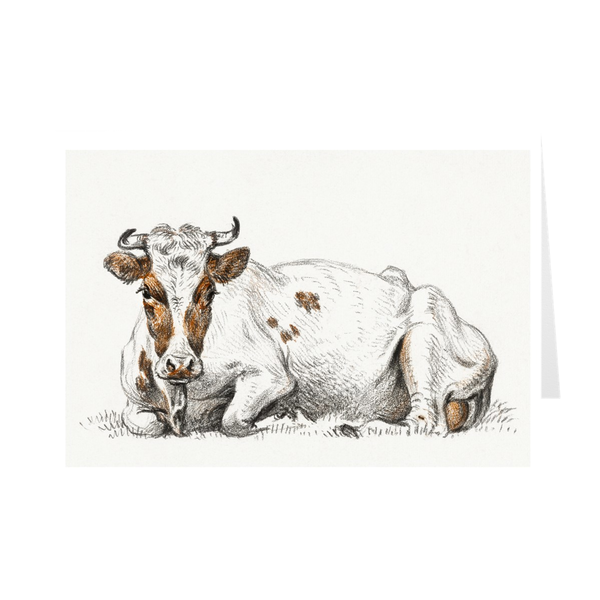 """Lying Cow"" Notecards"