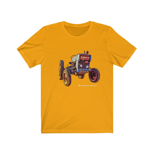 Old Blue Tractor - Short Sleeve Tee