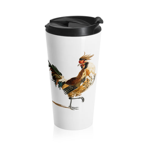 Something to Crow About Stainless Steel Travel Mug