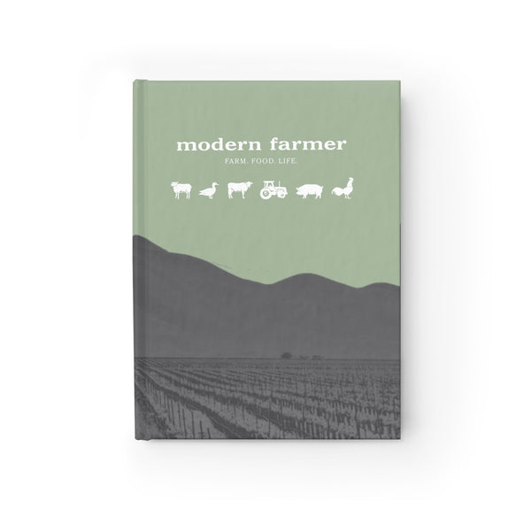 Modern Farm Animals Notebook