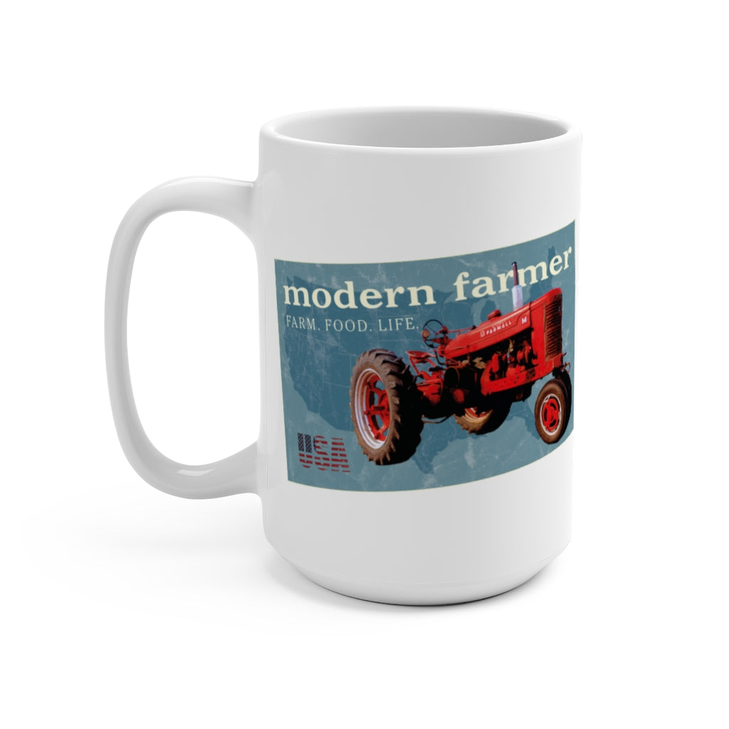 Old Red Tractor 15oz Mug