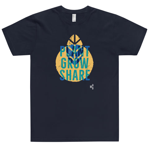"""Plant, Grow, Share"" T-shirt"