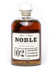 Noble Tonic 02: Tahitian Vanilla Bean and Egyptian Chamomile Blossom Matured Maple Syrup