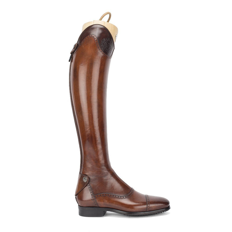 33202<br>Brown standard riding boots [34 - 39]