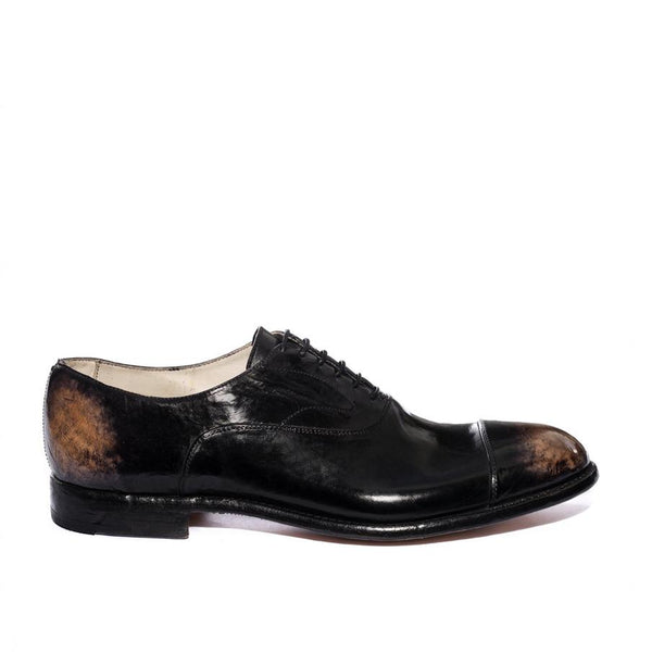 ELIAS 15012<br>Vintage black oxford shoes