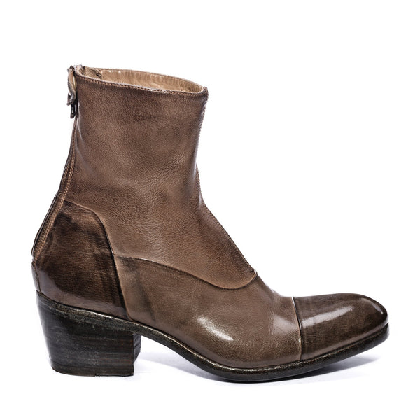 EVITA 14004, Ankle boots washed and dyed buffalo leather, vista 1