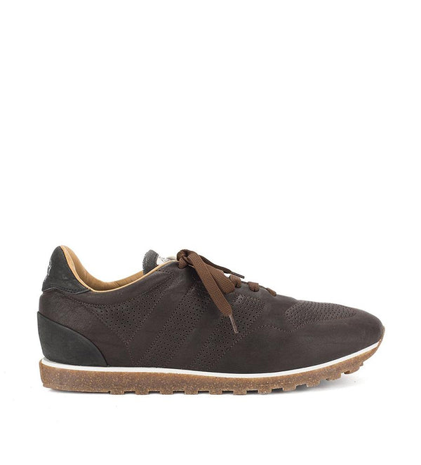 SPORT 50000<br> Dark brown sneakers