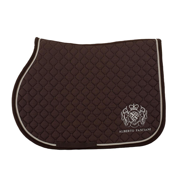 Saddle pad, Brown saddle pads, vista 2