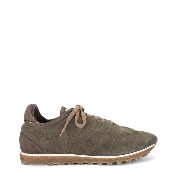 SPORT 50000<br>Army green sneakers