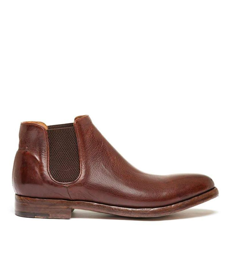 ELIAS 628 <br>Light brown chelsea boot