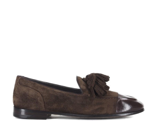 VENERE 45031<br>Brown loafers with tassels
