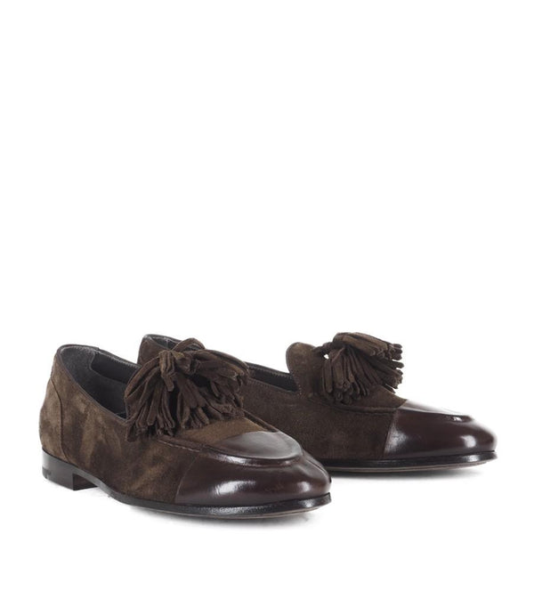 VENERE 45031, Loafer with tassel and painted toe, vista 2