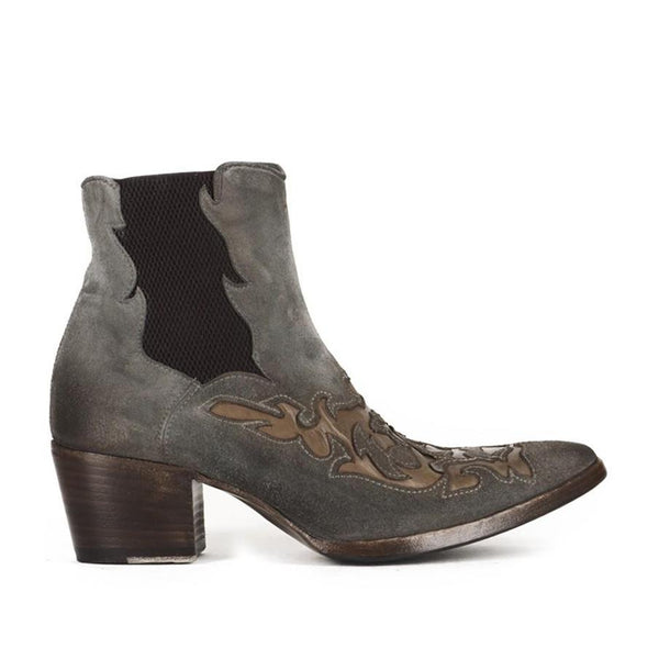 VENERE 46036<br>Grey texan inspired ankle boots