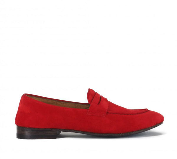 VENERE 48037<br>Red loafers