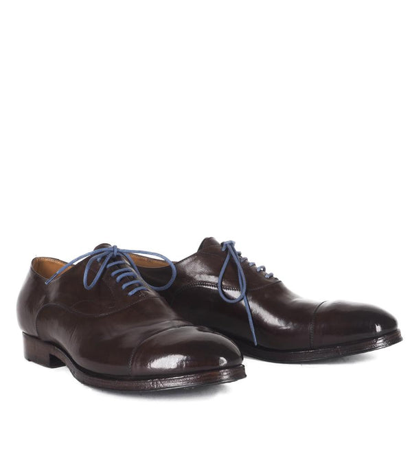 WOLF 15012, BROWN OXFORD SHOES, vista 2