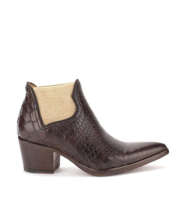 XENIA 52032<br>Dark brown texan inspired boots