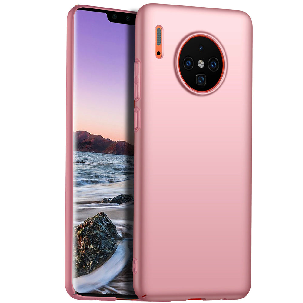 Huawei Mate 30 Pro Case Ultra Thin PC Shock-Absorption Protective Case Rose Gold