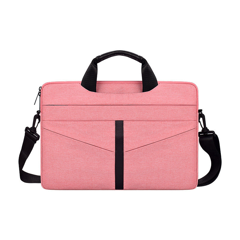 Protective Laptop Sleeve for 16-inch New MacBook Pro 2019 Travel Sleeve Case Shoulder Bag with Accessory Pocket Pink
