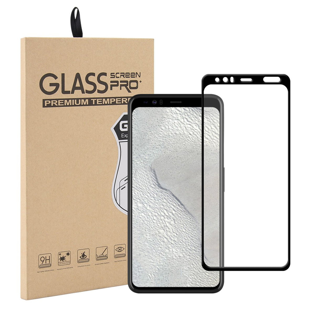 Pixel 4 Tempered Glass Case Friendly Bubble-Free Anti-Scratch Screen Protector 1 Pack