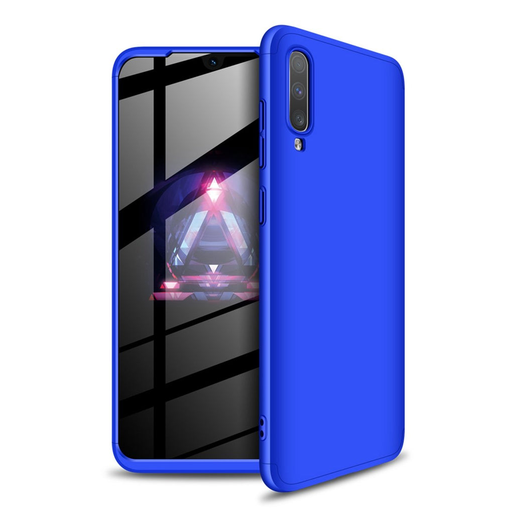 Galaxy A70s Case Slim Fit PC Hard Case Cover Hybrid Protective Back Shell Blue