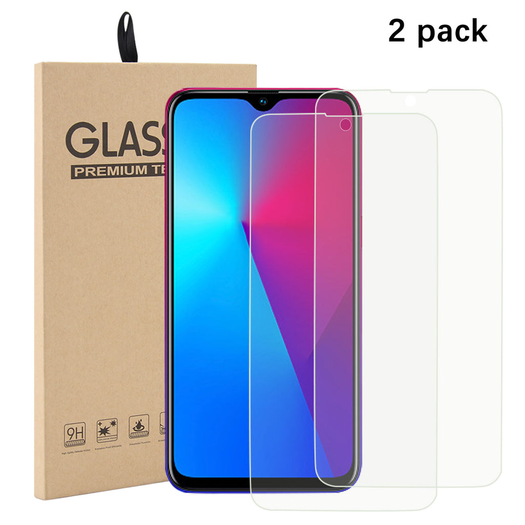 Screen Protector for REALME 3i Tempered Glass Anti Scratch Non-screen Film 2 Packs