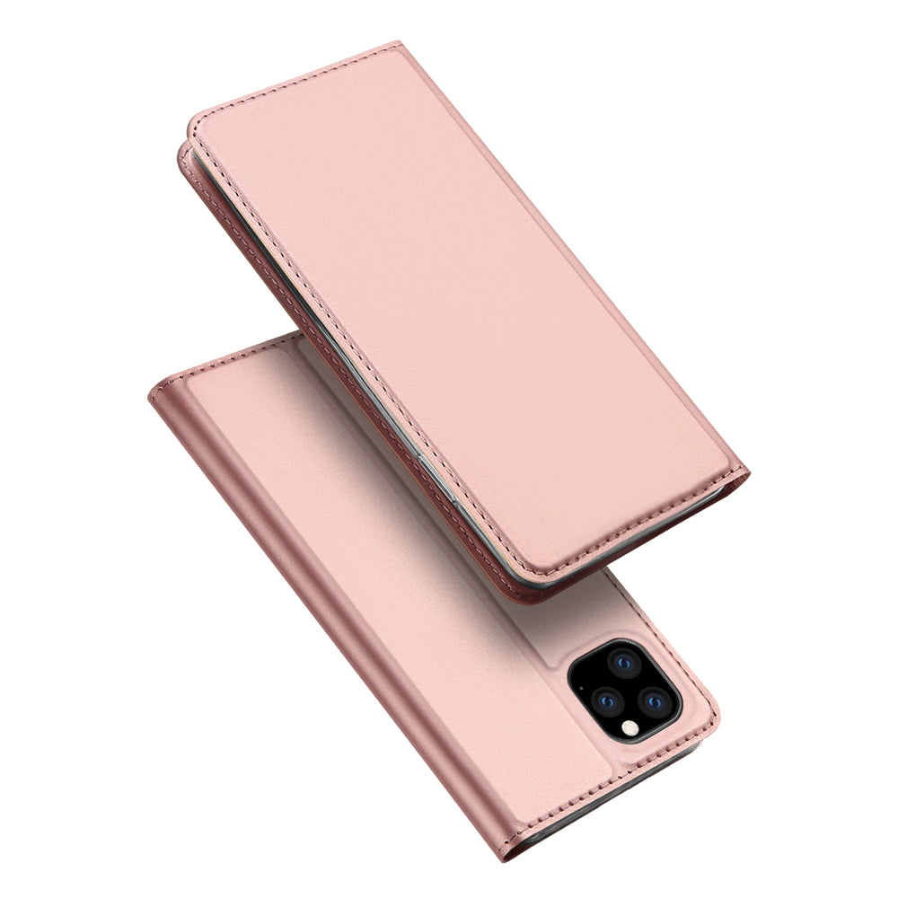 iPhone 11 pro max Wallet Case with Credit Card Slot Sleek Cover for Women Rose Gold