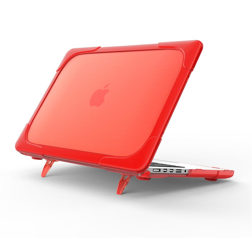 MacBook Pro 13 Inch Case with Retina Display Shockproof Shell Notebook Protective Cover Red