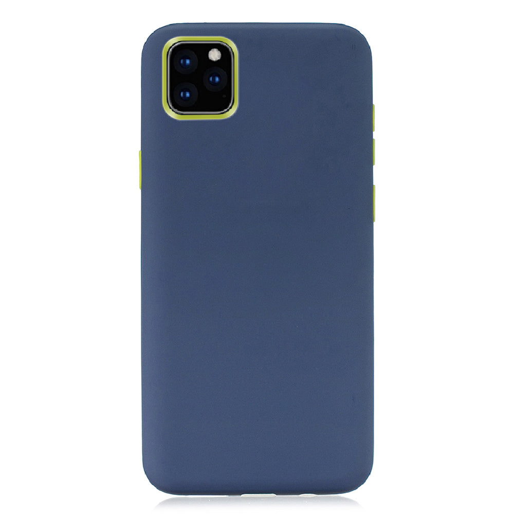 3 in 1 Layers Protection Case for iPhone 11 pro Shock Absorption Ultra ThIin Cover Blue