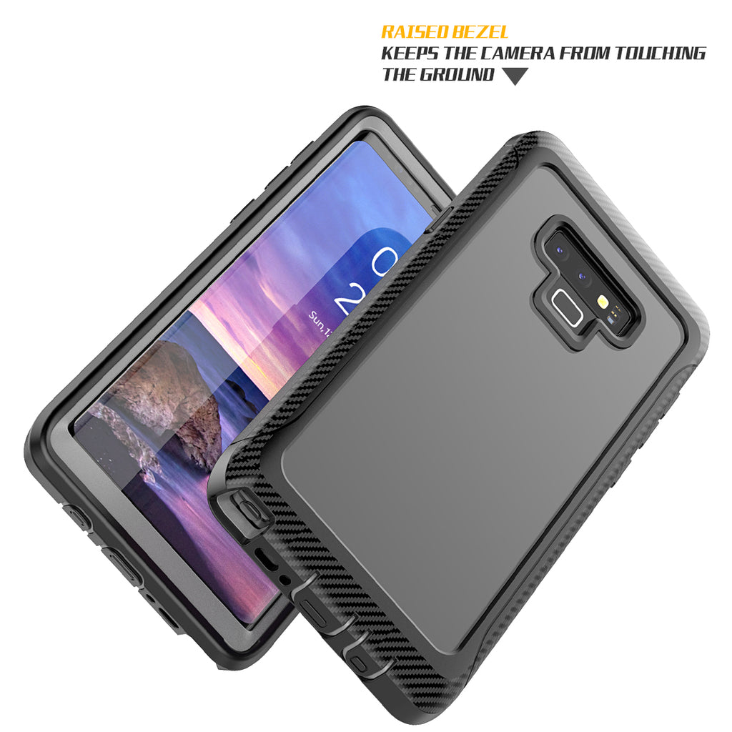 Samsung Galaxy Note 9 Case Shockproof Cover Black