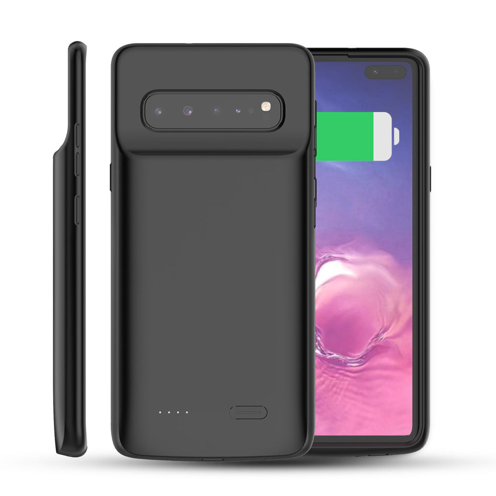 Battery Case for Samsung Galaxy S10 5G 5000mAh Rechargeable Extended Battery Charging Case Black
