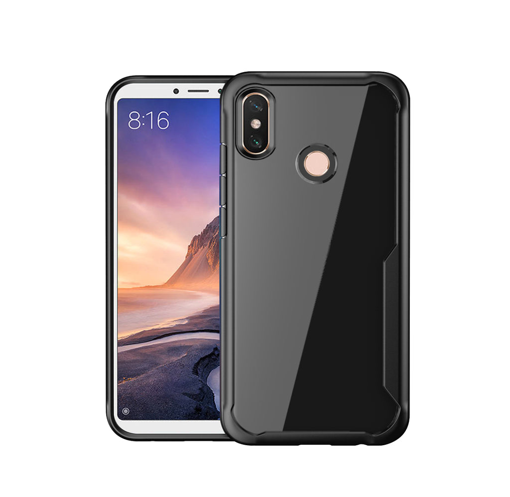 Huawei Nova 4 Case Soft TPU Dropproof Shockproof Phone Protection Cover Black