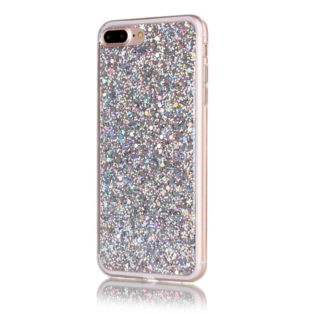 iPhone 8 Plus Case Sparkle Shiny Bling Glitter Shine Cover