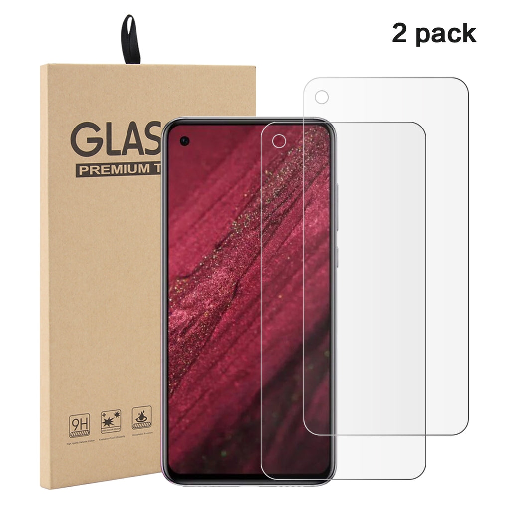 Huawei Nova 4 Tempered Glass Screen Protector 2 Pack Film Anti-Scratch Best Screen Protect