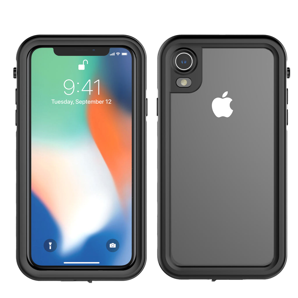 Moonmini iPhone XR Waterproof Case Shockproof Cover Slim Armor Design