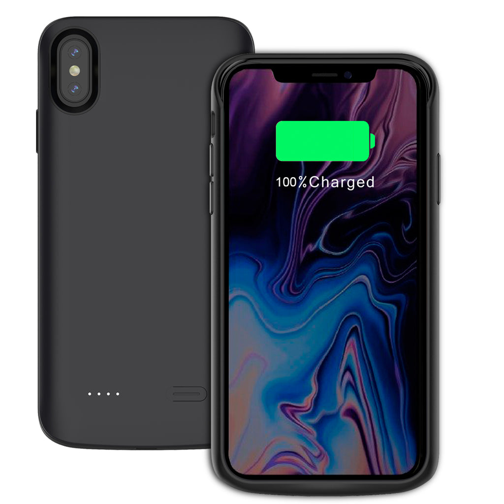 Moonmini iPhone Xs Max Battery Case 6000mAh Rechargeable