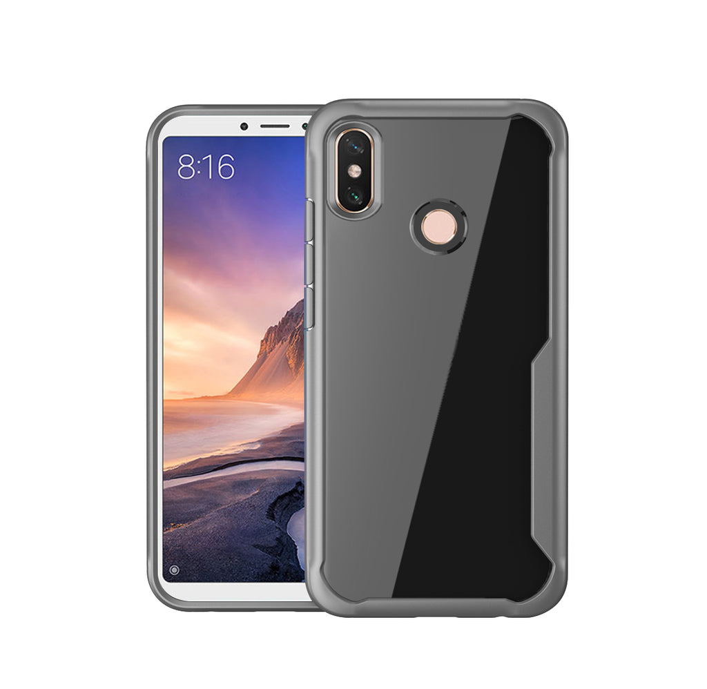 Huawei Honor P Smart 2019 Case Soft TPU Scratch Resistant Protective Shell also for Huawei Honor 10 Lite Grey