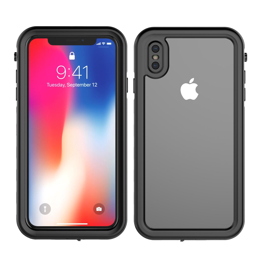 Moonmini iPhone XS Max Waterproof Case IP68 Certified Slim Armor Design