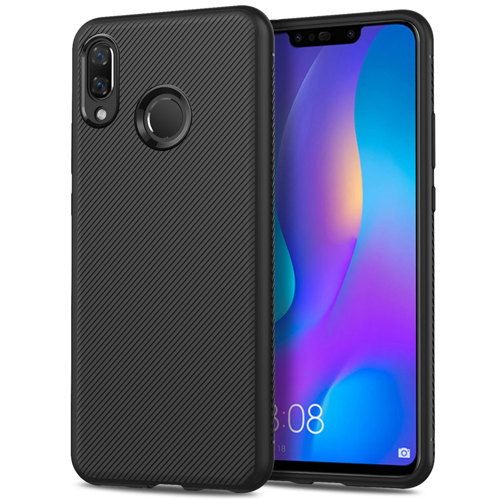 Huawei Honor P Smart 2019 Case Soft TPU Scratch Resistant Protective Shell also for Huawei Honor 10 Lite Black
