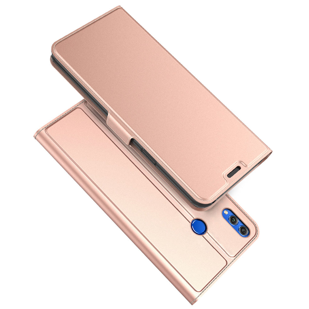 Huawei Honor 10 Lite Case  2019 Wallet Slim Folio Leather Cover Rose Gold