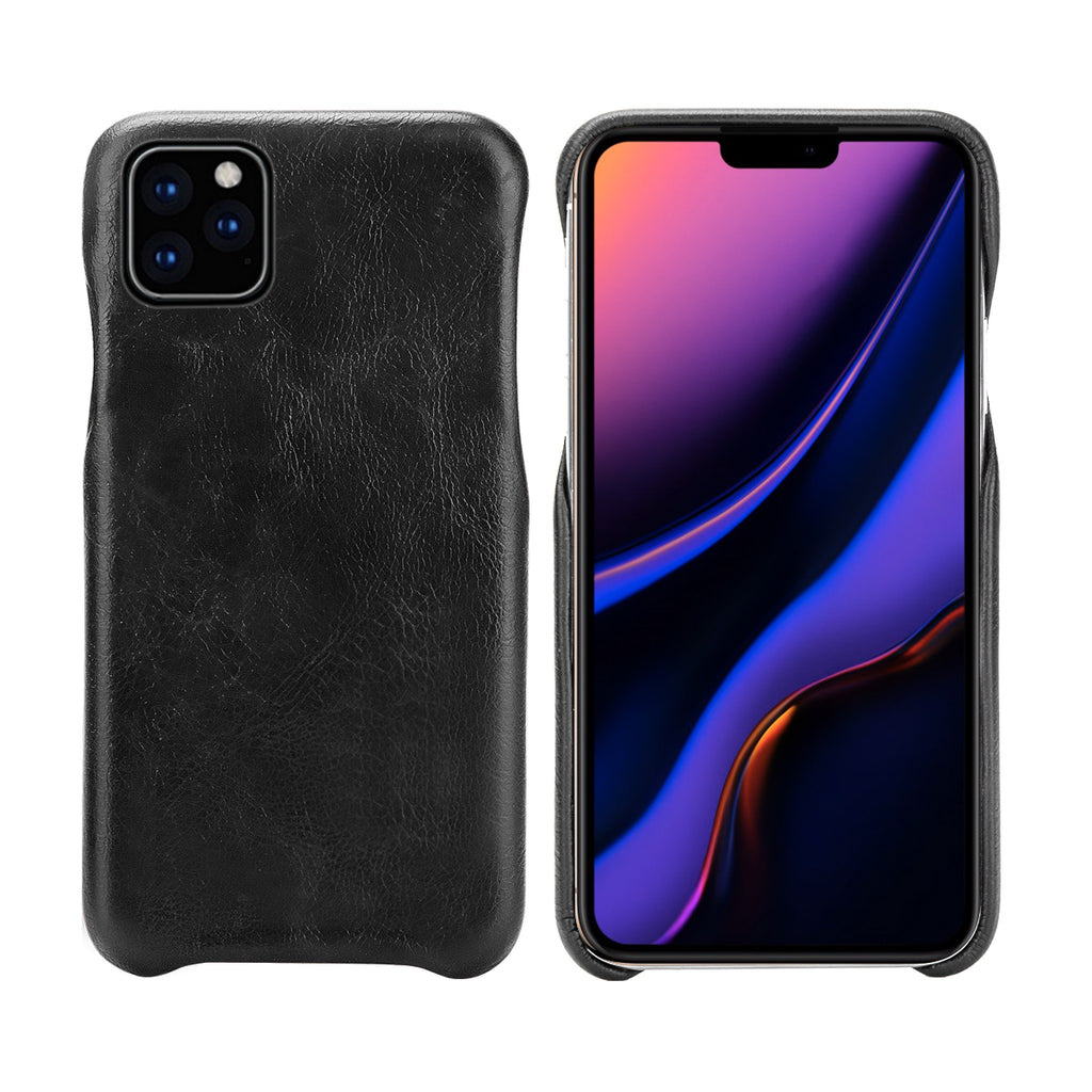 iPhone 11 pro max Case Slim Back Cover Shock Absorbing Case Black