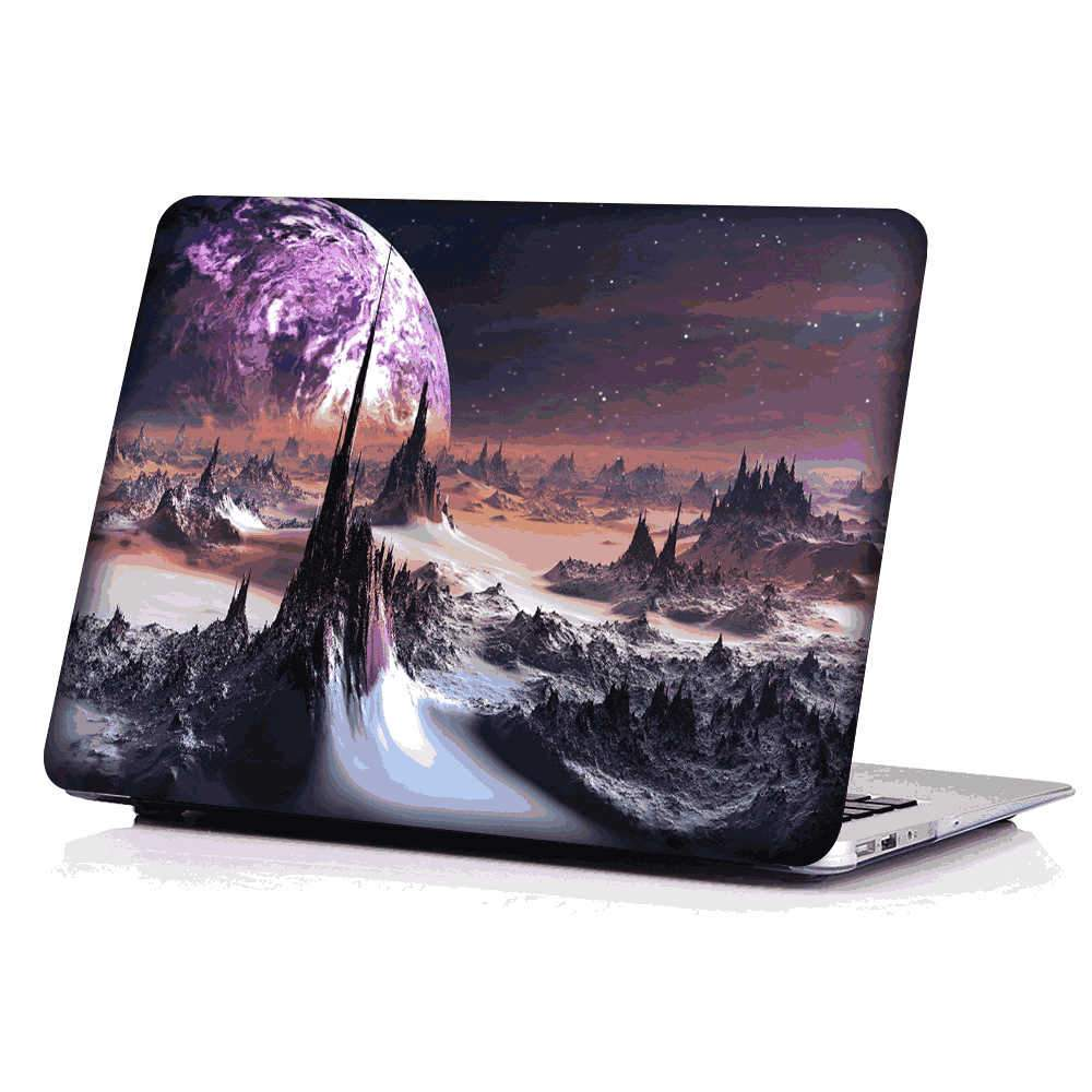 Macbook Pro 16 inch Hard Case Shockproof PC Shell Notebook Protective Cover (Landscape)