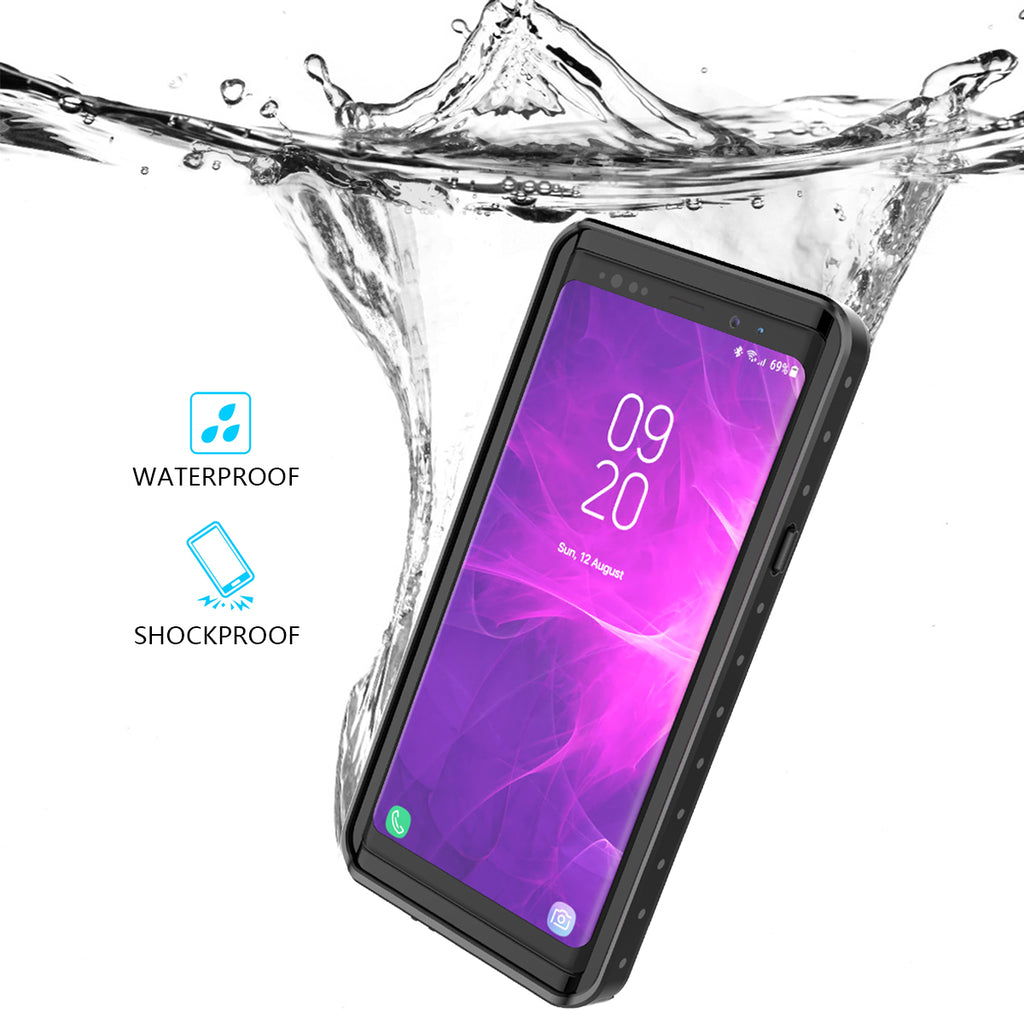Samsung Galaxy Note 9 Waterproof Case Fashion Dot Design Shockproof